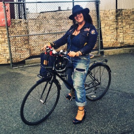 GODMOTHER NYC on BIKE by Ben Shaul
