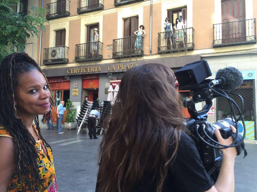 DK directing Spain.jpg